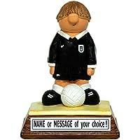 Statuina arbitro personalizzabile, il regalo perfetto per chi ama tirare fuori il cartellino rosso (In confezione regalo) - Kerr Characters.
