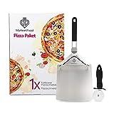 MyHeartFood Pizza Paket: 1x Faltbarer Pizzaschieber und 1x...