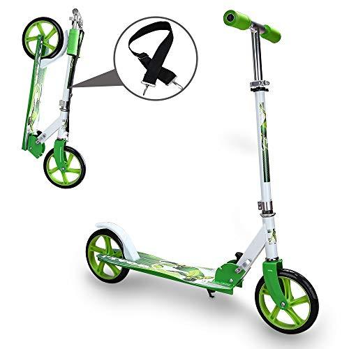 hengda bambini monopattino 2 ruote pieghevole e con altezza regolabile monopattini adatto per bambini 3-12 anni