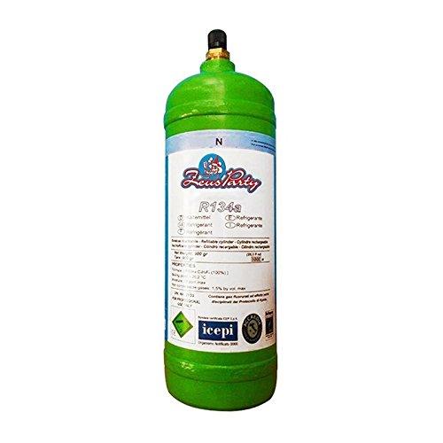 Bombona recargable de gas refrigerante impiegato para climatizador coche