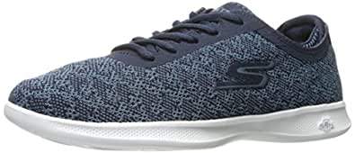 Synergy 2.0-Headliner, Allenatori Donna, Nero (Black/White), 36 EU Skechers