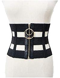 Correa de cintura del vestido de las señoras Mujeres punk elástico arnés  del cinturón del cuerpo e32858f63bcd