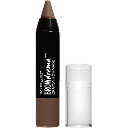 MAYBELLINE Brow Drama Pomade Crayon Soft Brown (Brow Pomade Soft Brown)