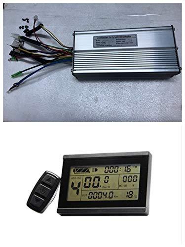 NBPOWER 36V/48V 1000W 30A bürstenloser DC Motor Controller + KT-LCD3 Display EIN Set, für 1000W E-Bike-Kit.