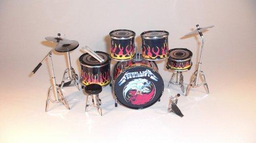 RGM306 Lars Ulrich Metallica Miniaturschlagzeug
