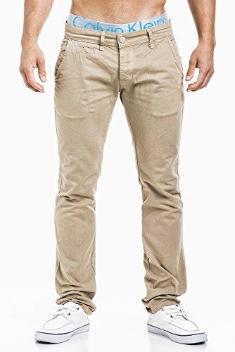 LEIF NELSON - Jeans - Homme Beige - Beige