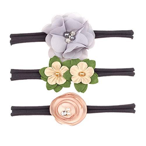 hen Blumen Stirnbänder Prinzessin Neugeborenen Haarschmuck Für Kleinkind Mädchen Geschenke Weiche ()