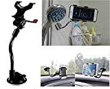 MJ Ragav Soft Tube Mobile Holder with Multi-Angle Car Mobile Holder for All Smartphone/iPhone Device