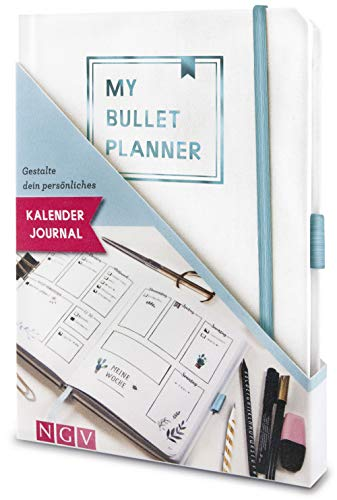 My Bullet Planner: Gestalte dein persönliches Bullet Journal. Set mit Notizbuch, Stickern, Schablone und Anleitung