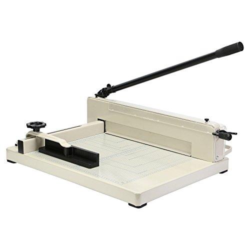 VEVOR Taglierina Carta Ghigliottina Taglio Carta Paper Cutter Guillotine 400 Fogli Carte Formato A3 17 Inch Heavy Duty