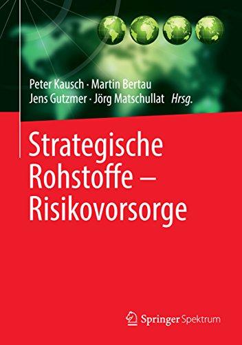 Strategische Rohstoffe - Risikovorsorge