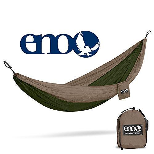 Eagles Nest Outfitters Doppel-Nest Hängematte, Unisex, DH009, Khaki/Olive, Nicht zutreffend