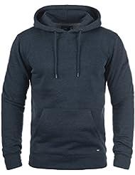 SOLID Bert Herren Kapuzenpullover Hoodie Sweatshirt aus hochwertiger Baumwollmischung