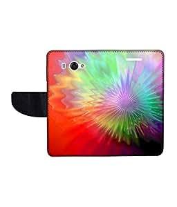 KolorEdge Printed Flip Cover For Redmi Xiaomi MI 2S Multicolor - (45KeMlogo10015XiaomiMi2S)