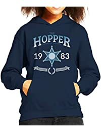 Cloud City 7 Stranger Things Hopper Police Academy Kid s Hooded Sweatshirt b9e0109b49e