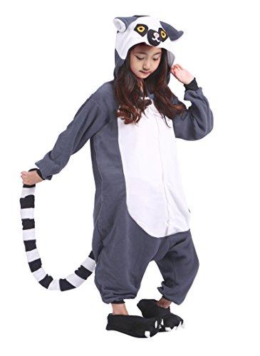 (SAMGU Kinder Unisex AFFE Animal Tier Onesie Cosplay Kostüm Kigurumi Pyjamas Sleepwear)