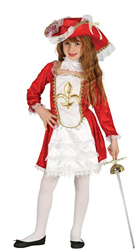 Guirca-Costume da Moschettiere per bambina (87526.0)