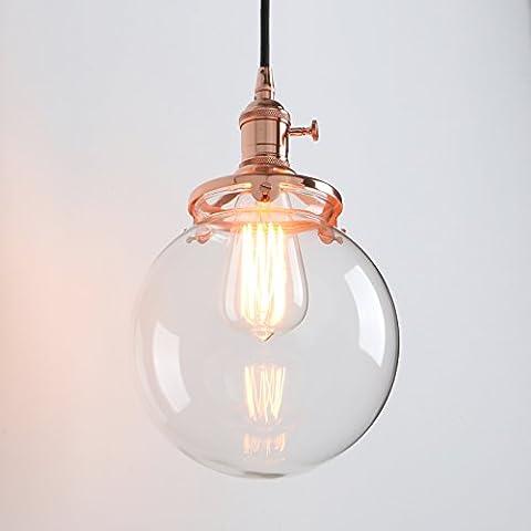 Pathson Industrial Modern Vintage Edison Hanging Light Fitting Pendant Ceiling