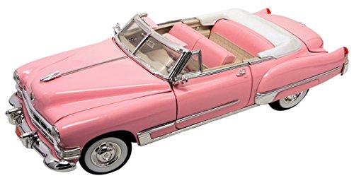Cadillac Coupe DeVille Cabrio Pink Elvis Presley 1949 1/18 Yatming Modell Auto