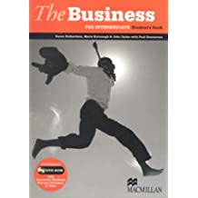 The Business Pre-Intermediate Student's Book with DVD B1: Student's Book DVD ROM Pack
