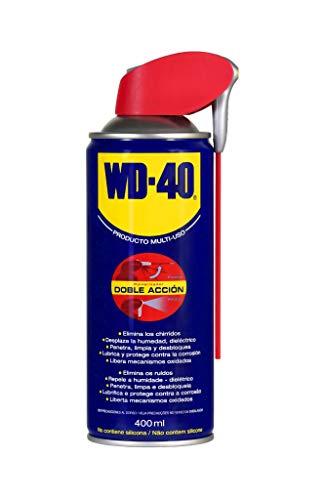WD-40 Producto Multi-Uso Doble Acción, 400 ml
