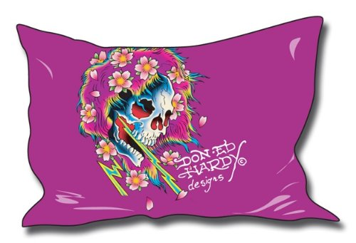 Ed Hardy Beautiful Ghost (Ed Hardy Kissenbezug Beautiful Ghost 65x100cm)