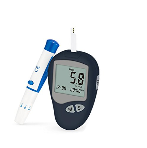 liu Codefrei Blutzuckermessgeräte/Überwachungstest/Testkit + 50 Streifen + Lanzetten - in mmol/L