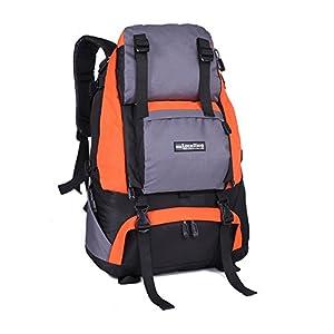 Tofern 40L Multisportrucksack Wasserdicht Unisex Outdoor Vrschleißfest Reisetasche Rucksäcke Wanderrucksäcke Trekkingrucksäcke Kampfrucksack Alpinrucksack Schultaschen,16 Farben