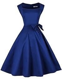 E-Girl M115818D Robe de bal Vintage pin-up 50's Rockabilly robe de soirée cocktail,M-XXXXL