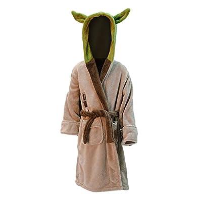 Peignoir de bain La Guerre des Etoiles Yoda pour enfant vert