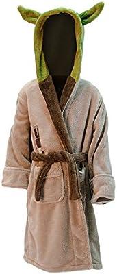 Albornoz infantil Star Wars Yoda verde