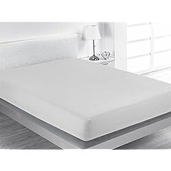 SABANALIA - Bajeras Ajustables Combina (Disponible en Varios tamaños) - Cama 105, Blanco