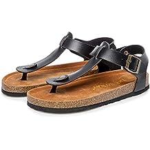 HoSayLike Moda Mujer Peep Toe Tacones Altos Plataformas Tacones Delgados Sandalias Zapatos De Fiesta Tacones Altos
