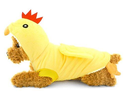 SELMAI Kleiner Hund Katze Chick Kostüm Outfits, Halloween -