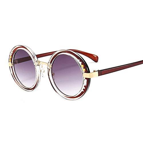 OULN1Y Sport Sonnenbrillen,Vintage Sonnenbrillen,Luxury Round Sunglasses Designer Ladies Oversized Mirror Sunglasses Women Diamond Sun Glasses Female