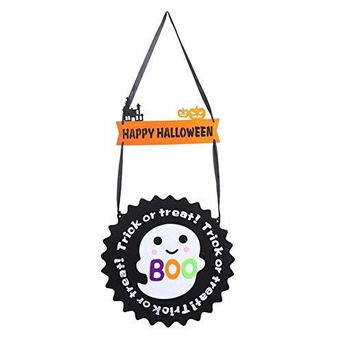 h Anhänger für Halloween, Halloween Dekoration Fledermaus Geist Kürbisform Hängende Ornamente COS Party Requisiten ()