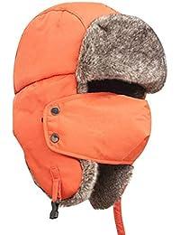 BIRAN Cappello da Berretto Invernale con Visiera da Unico Cappello E  Berretto da Caccia Invernale 5ff218f5840b