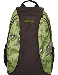 Wildcraft Loco VO Polyester Olive Casual Backpack(8903338018506)