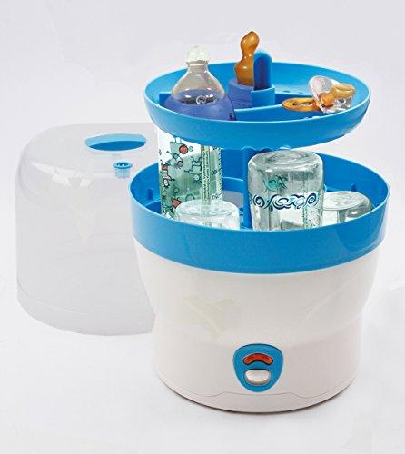 H+H BS 29b Babyflaschen-Sterilisator für 6 Flaschen in blau - 2
