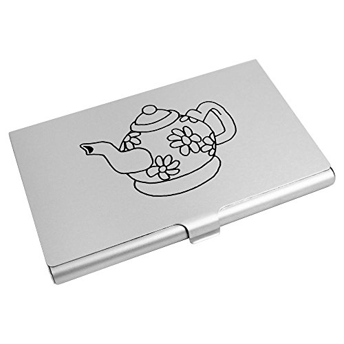 itenkartenhalter / Kreditkarte Geldbörse (CH00012651) (Blume Teekanne)