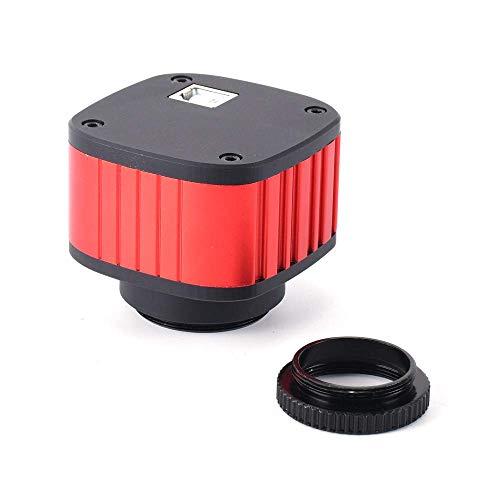 AOLI 16Mp Hdmi Mikroskop Kamera Kit für Industrie Labor Pcb Usb Ausgang Tf Card Video Recorder + 180X C-Mount Objektiv + Big Stereo Stand +144 Led Licht Osd-video-recorder