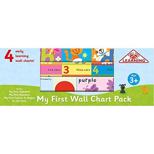 Autumn Publishing My Wall Chart-Set für Kinder ab 3 Jahren (Publishing Autumn)