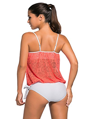 Chase Secret Damen Tankini Orange