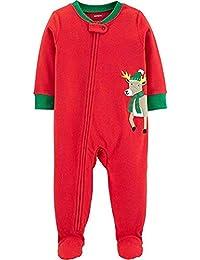 2590af3c09 Carter's Schlafanzug Fleece 98/104 Einteiler Junge Boy warm Weich Winter  Reißverschluss US Size 4
