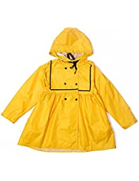 ALLLHMKS Tipo de Falda Amarilla Impermeable Impermeable Escuela Primaria Kindergarten Poncho para bebé Chubasquero Duradero (