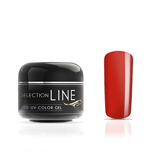 N&BF Selection Line UV Farbgel Red Chili Peppers | 5ml Profi Colour gel mittelviskos | Colorgel Rot Made in EU | Farbengel für Gelnägel & Nail Art | Rotes Premium Nagelgel säurefrei + selbstglättend Red Pepper Lack