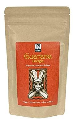 NEU! Guaraná Energie Premium-Pulver 200g. Das Geheimnis der Inka für frische Energie. Immer dann, wenn's drauf ankommt. 100% naturrein, vegan. Pharmazentralnummer: 11642977