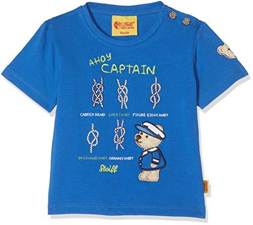 Steiff Steiff Baby-Jungen T-Shirt 1/4 Arm, Blau (Nautical Blue 3009), 62