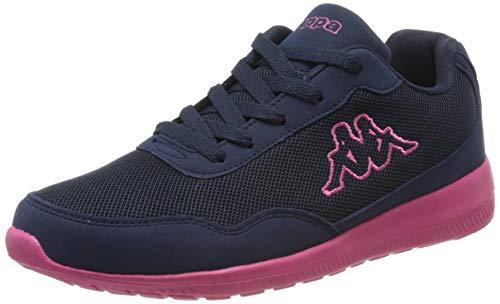 Kappa Damen Follow BC Sneaker, Blau (Navy/Pink 6722), 41 EU