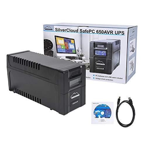 UPS SilverCloud SafePC 650AVR Power 360W LCD-Bildschirm PC-Überwachungssoftware